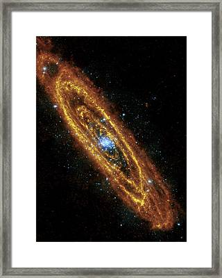Andromeda Galaxy Framed Print by Adam Romanowicz