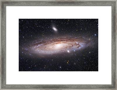 Andromeda Galaxy Framed Print by Alex Conu