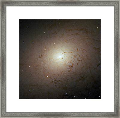 Andromeda Galaxy Core Framed Print by Robert Gendler