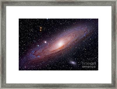 Andromeda Galaxy M31 Framed Print by John Chumack