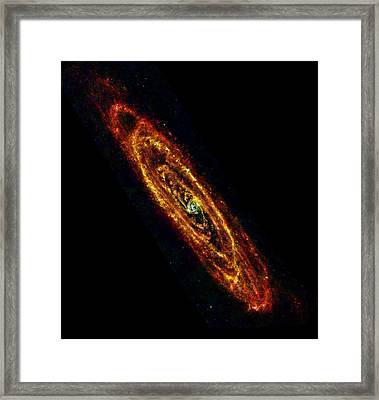 Andromeda Galaxy M31 Framed Print by Science Source