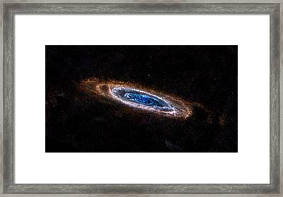 Andromeda Galaxy Framed Print by Movie Poster Prints