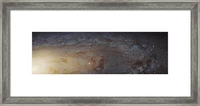 Andromeda Galaxy Framed Print by Nasa, Esa, J. Dalcanton, B.f. Williams, And L.c. Johnson (u. Of Washington), The Panchromatic Hubble Andromeda Treasury (phat) Team, And R. Gendler