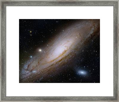 Andromeda Galaxy Framed Print by Robert Gendler