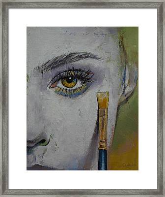 Andromeda Framed Print by Michael Creese