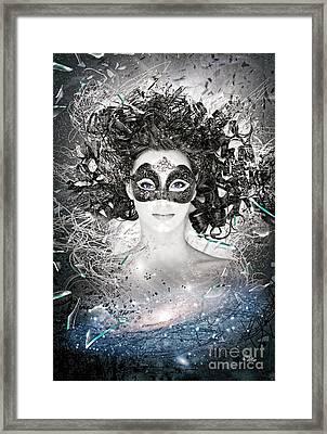 Andromeda Framed Print by Mo T