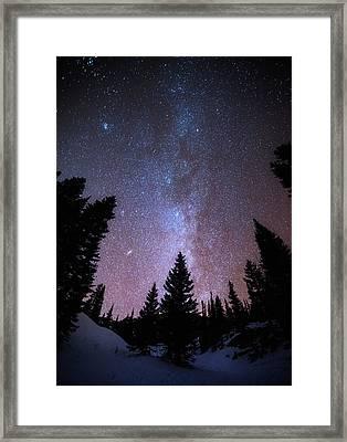 Andromeda Our Neighbor Framed Print by Darren  White