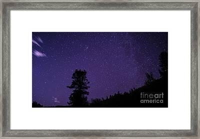 Andromeda Rising Framed Print