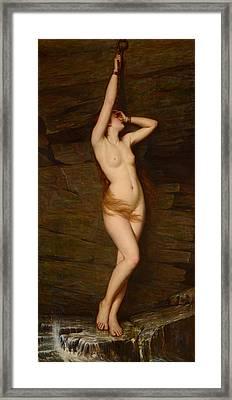 Andromeda Framed Print by Vlaho Bukovac