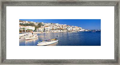 Andros, Cyclades, Greece Framed Print by Panoramic Images