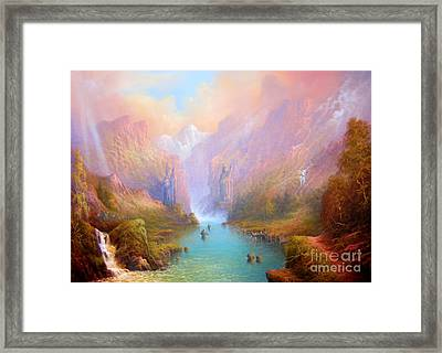 Anduin The Great River Framed Print by Joe  Gilronan