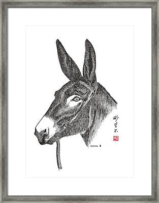 Framed Print featuring the painting Andy by Bill Searle