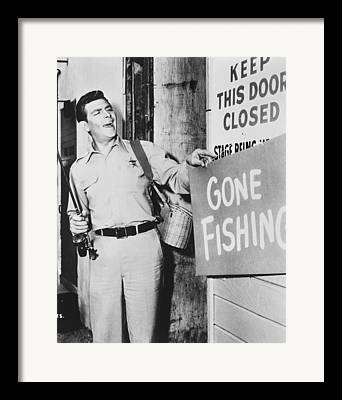 Andy Griffith Show Photographs Framed Prints