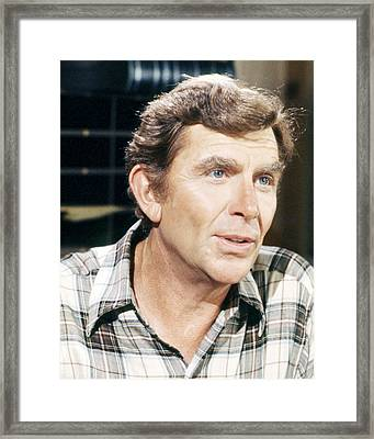 Andy Griffith Framed Print