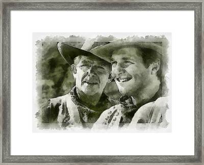 Andy Griffiths Western Days Framed Print
