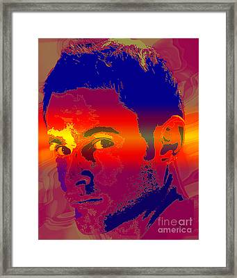 Andy Roddick  Framed Print by Dalon Ryan