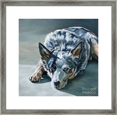 Andy Framed Print by Suzanne Leonard