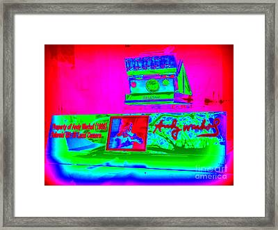 Andy Warhols Polaroid Framed Print by Ed Weidman