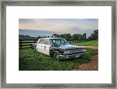 Andy's Car Framed Print by EG Kight