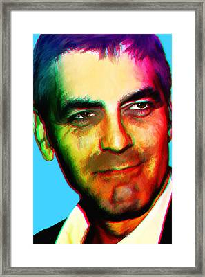 Andy's Clooney Framed Print