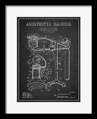 Anesthetic Framed Prints