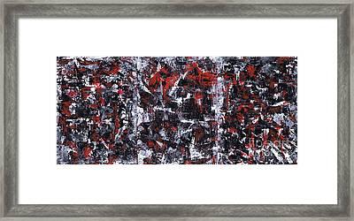 Aneurysm 1 - Triptych Framed Print by Kamil Swiatek