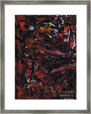 Aneurysm 2 - Left Framed Print by Kamil Swiatek