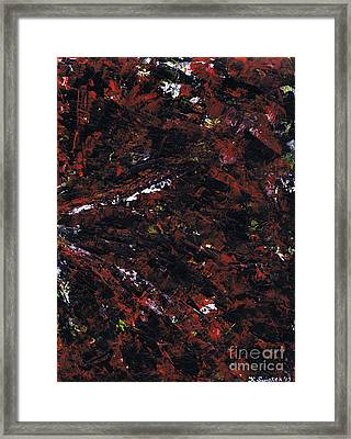 Aneurysm 2 - Right Framed Print by Kamil Swiatek