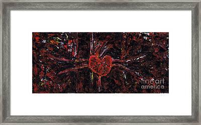 Aneurysm 2 - Triptych Framed Print by Kamil Swiatek