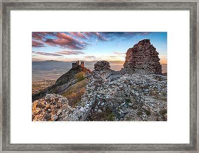 Anevo Fortress Framed Print