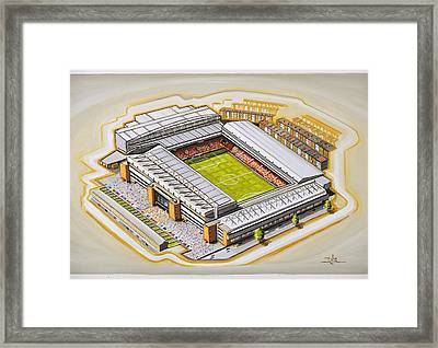 Anfield - Liverpool Framed Print
