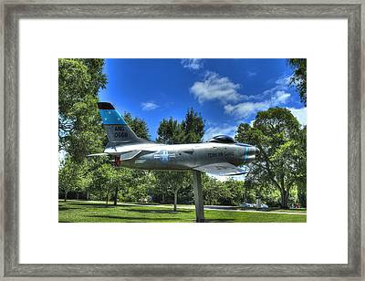 Ang Of Nashville Framed Print by Honour Hall