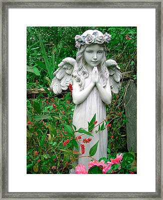 Angel Framed Print by Aimee L Maher Photography and Art Visit ALMGallerydotcom