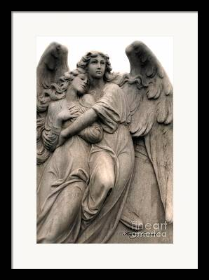 Angel Art By Kathy Fornal Framed Prints