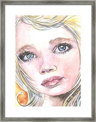 Angel Baby Framed Print