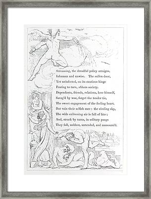 Angel Framed Print by British Library