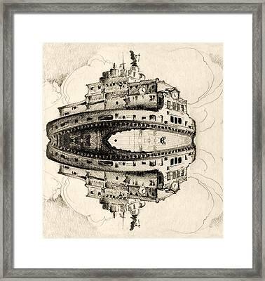 Angel Castle Framed Print