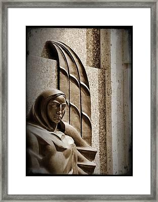 Angel Framed Print by Cherie Haines
