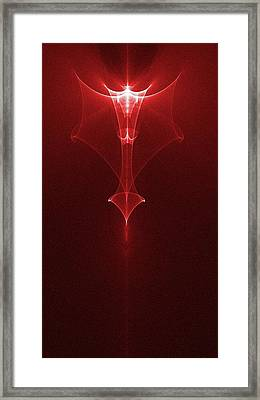 Angel Framed Print by Ches Black
