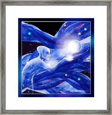 Angel Creator Framed Print by Hartmut Jager