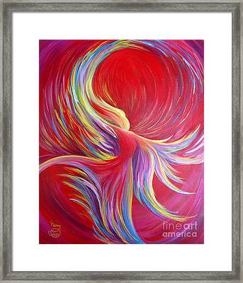 Angel Dance Framed Print