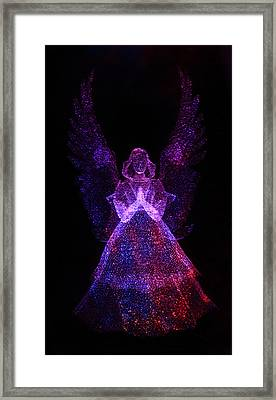 Angel Dots Framed Print