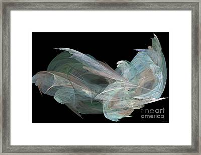 Angel Dove Framed Print by Elizabeth McTaggart