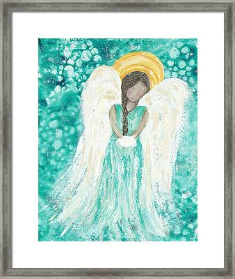 Angel Dreams Framed Print