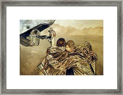 Angel Flight Framed Print by Annette Redman
