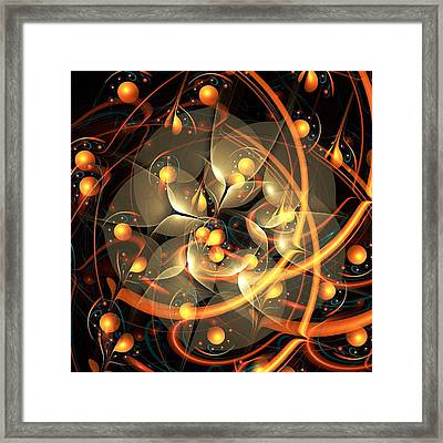Angel Flower Framed Print by Anastasiya Malakhova