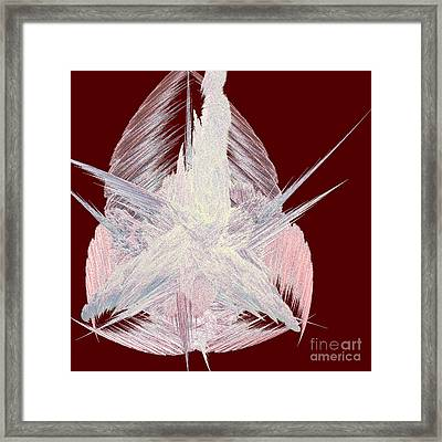 Angel Heart By Jammer Framed Print by First Star Art