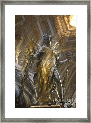 Angel In Motion Framed Print by Mary-Lee Sanders