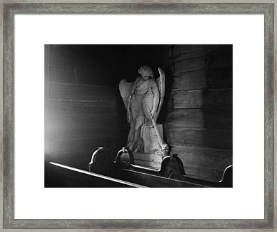 Angel In My Corner Framed Print