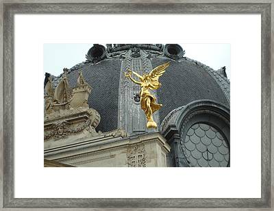 Framed Print featuring the photograph Angel In Paris by Kay Gilley